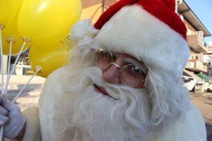 Visita do Pai Natal a Vila Meã